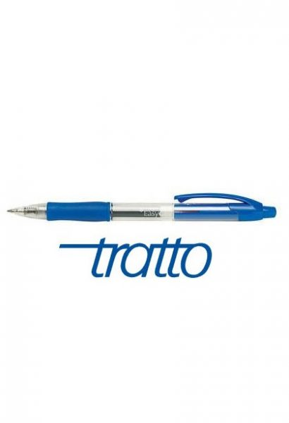 PENNA A SFERA TRATTO EASY GEL BLU