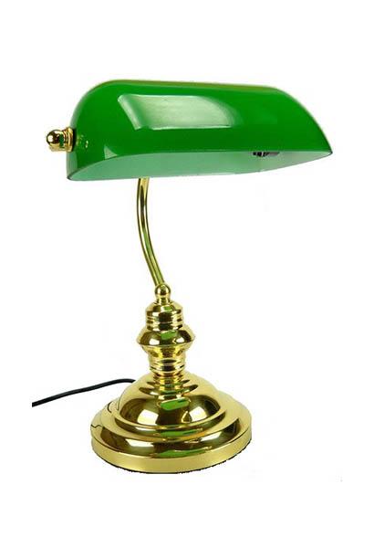 Lampada da tavolo antique ordini avvocati - Lampada verde da tavolo ...