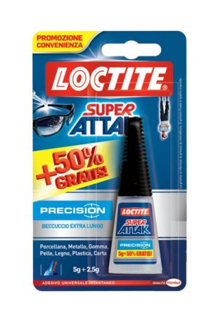 precision super attak colla tubetto 50% in più gratis