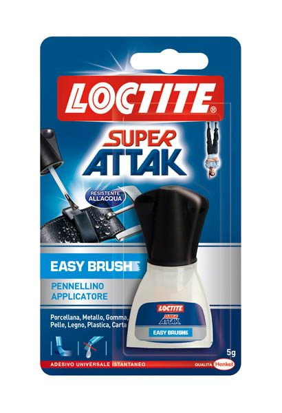 COLLA SUPER ATTAK EASY BRUSH LOCTITE - 5g