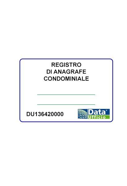 registro di anagrafe condominiale - 93 fogli