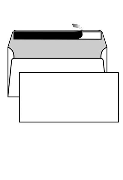 Busta 11x23cm con strip