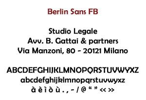 Berlin Sans FB
