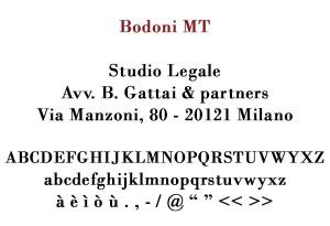 Bodoni MT