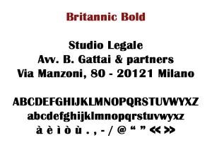 Britannic Bold