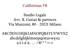 Californian FB