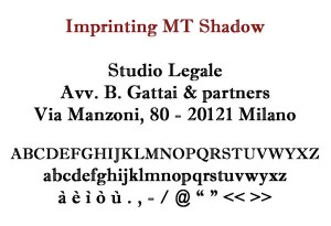 Imprinting MT Shadow