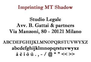 Imprinting MT Shadow